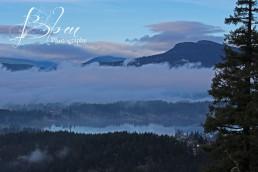 View of Mt Prevost